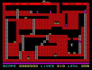 Lode Runner ZX Spectrum 21