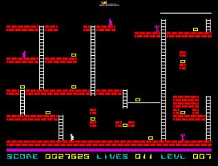 Lode Runner ZX Spectrum 22