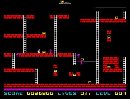 Lode Runner ZX Spectrum 23