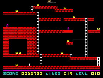 Lode Runner ZX Spectrum 31