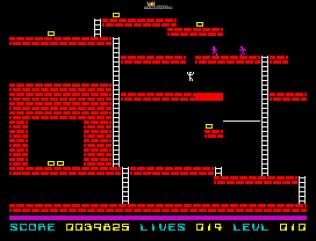 Lode Runner ZX Spectrum 32