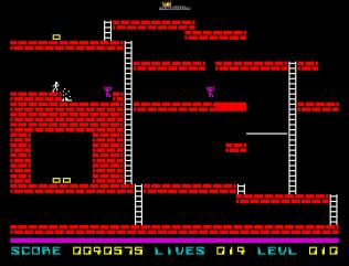 Lode Runner ZX Spectrum 33