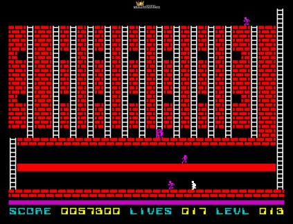Lode Runner ZX Spectrum 42