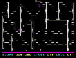Lode Runner ZX Spectrum 43