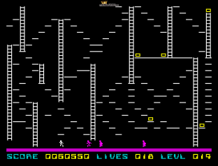 Lode Runner ZX Spectrum 45
