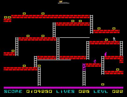 Lode Runner ZX Spectrum 53