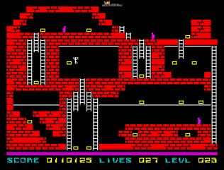 Lode Runner ZX Spectrum 54
