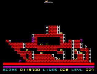 Lode Runner ZX Spectrum 55