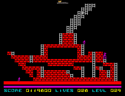 Lode Runner ZX Spectrum 56