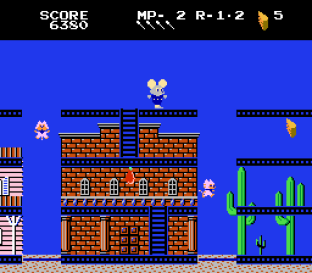 Mappy-Land NES 09