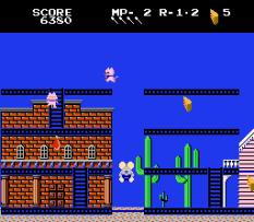 Mappy-Land NES 10