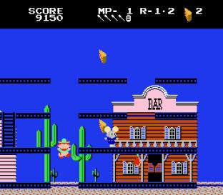 Mappy-Land NES 12