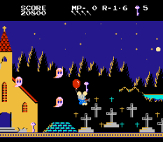 Mappy-Land NES 33