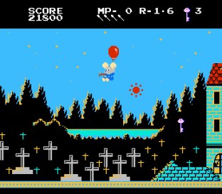 Mappy-Land NES 34