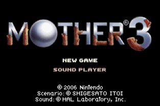 Mother 3 GBA 001