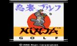 Ninja Golf Atari 7800 01