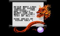 Ninja Golf Atari 7800 07