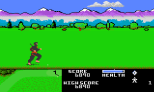 Ninja Golf Atari 7800 11