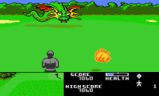 Ninja Golf Atari 7800 13