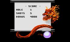 Ninja Golf Atari 7800 15