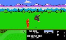 Ninja Golf Atari 7800 18