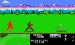 Ninja Golf Atari 7800 21