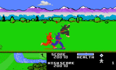 Ninja Golf Atari 7800 32