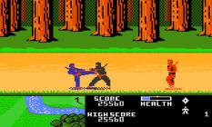 Ninja Golf Atari 7800 36