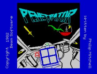 Penetrator ZX Spectrum 01