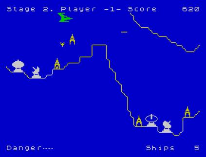 Penetrator ZX Spectrum 09