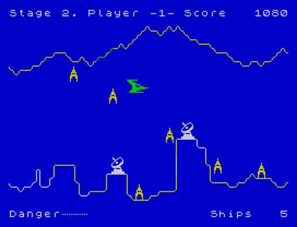 Penetrator ZX Spectrum 12