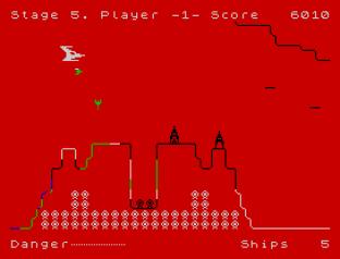 Penetrator ZX Spectrum 31