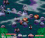 Pocky and Rocky SNES 48