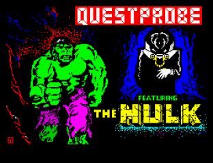 Questprobe 1 - The Hulk ZX Spectrum 01