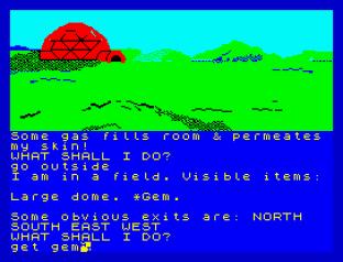 Questprobe 1 - The Hulk ZX Spectrum 09