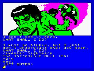 Questprobe 1 - The Hulk ZX Spectrum 12