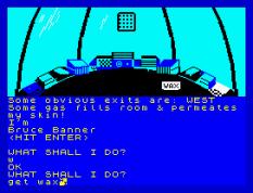 Questprobe 1 - The Hulk ZX Spectrum 22