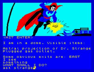 Questprobe 1 - The Hulk ZX Spectrum 23