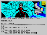 Questprobe 2 - Spider-Man ZX Spectrum 07