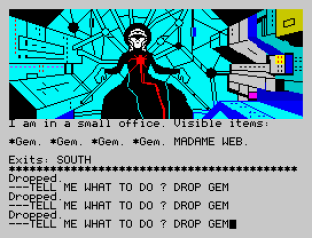 Questprobe 2 - Spider-Man ZX Spectrum 12