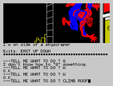 Questprobe 2 - Spider-Man ZX Spectrum 21