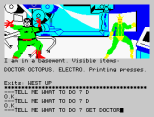 Questprobe 2 - Spider-Man ZX Spectrum 27