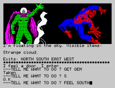 Questprobe 2 - Spider-Man ZX Spectrum 32