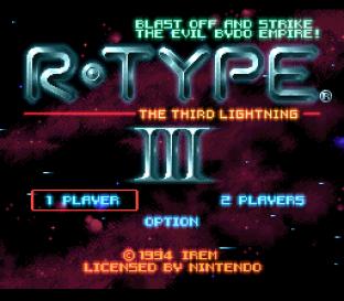 R-Type 3 SNES 001