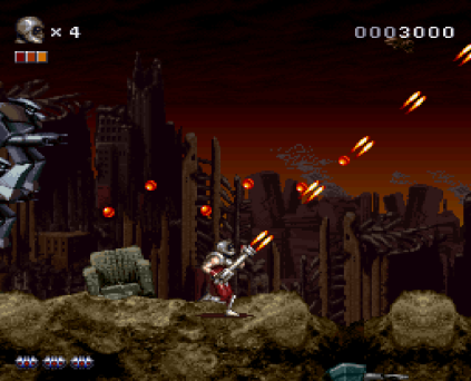 Rendering Ranger R2 SNES 09