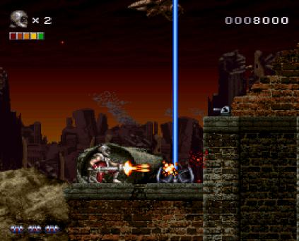 Rendering Ranger R2 SNES 12