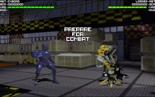 Rise of the Robots PC DOS 06