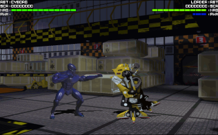 Rise of the Robots PC DOS 07