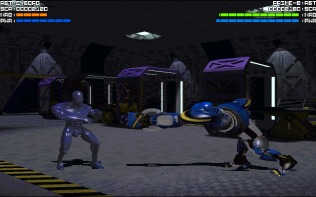 Rise of the Robots PC DOS 18