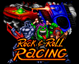 Rock N Roll Racing SNES 01